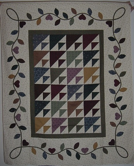 Bed and Breakfast Quilt - Workshop